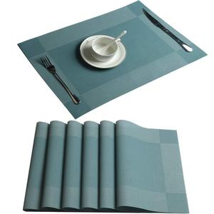 Fast Delivery Table Placemats Hotel Dining Room Woven Silicon Table Mat