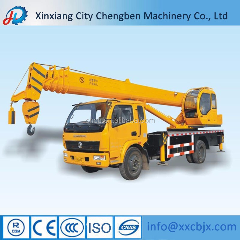 Reasonable Price Used Pickup Portable Truck Cranes with Max.Lifting Height 36m