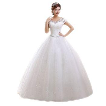 77aec84731d 2018 Best sale Lace Wedding Dress White Red Long Bride wedding dress Luxury  Dress