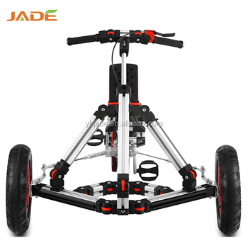 Professional modular rides tricycle master kit 4 wheel assembly car kick scooter