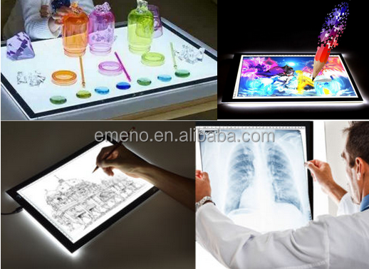 A3 Ultra Slim Art Craft Tattoo Led illuminated acrylic Tracing Board