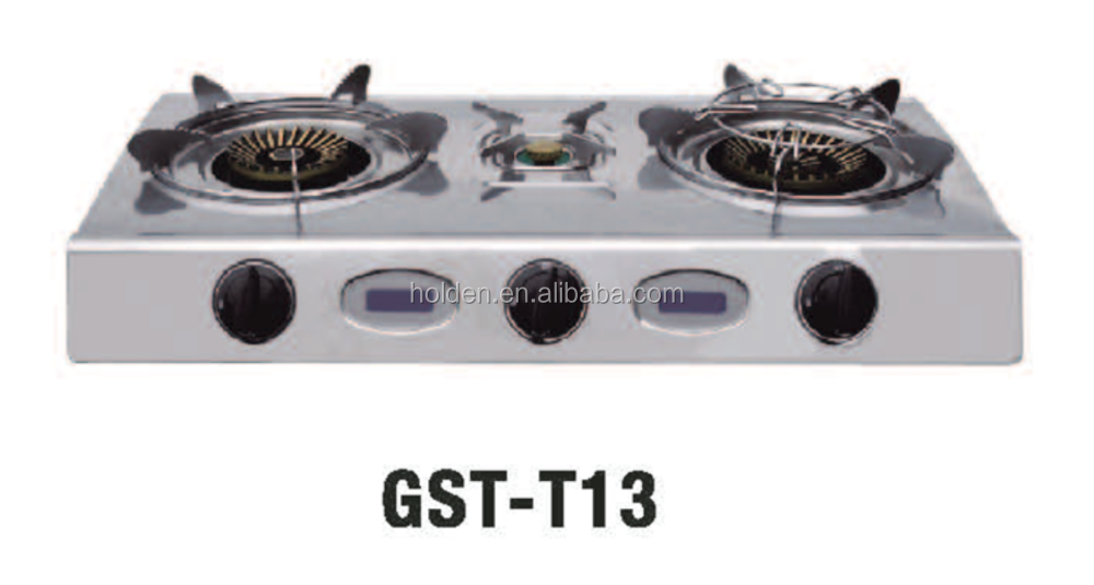 GST-T13 wooden table gas stove used gas stove gas stove burner grates