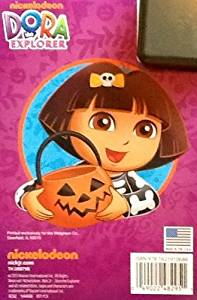 """Dora the Explorer """"The Scare Pair"""" Halloween Coloring & Activity Flip Top Pad: 7"""" X 5"""" 64 Pages!!! Spooky Puzzles & Games!"""