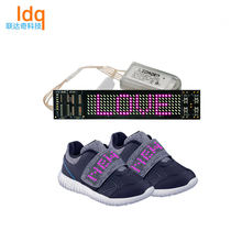 2018 Boys Girls Colorful LED Light Up Sports Baby Shoes Sneakers Kids Dance Shoes Strip For Shoe Sole Light