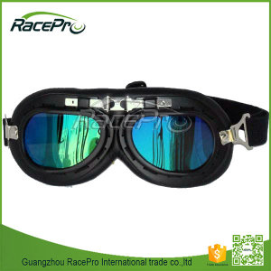 Fashionable rainbow color lens goggles motorcycle motocross for Harley, new model eyewear frame glasses