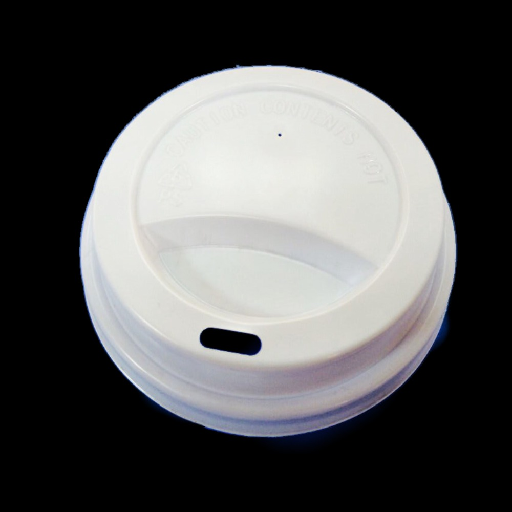 Disposable Plastic Hot Coffee Cup Lids