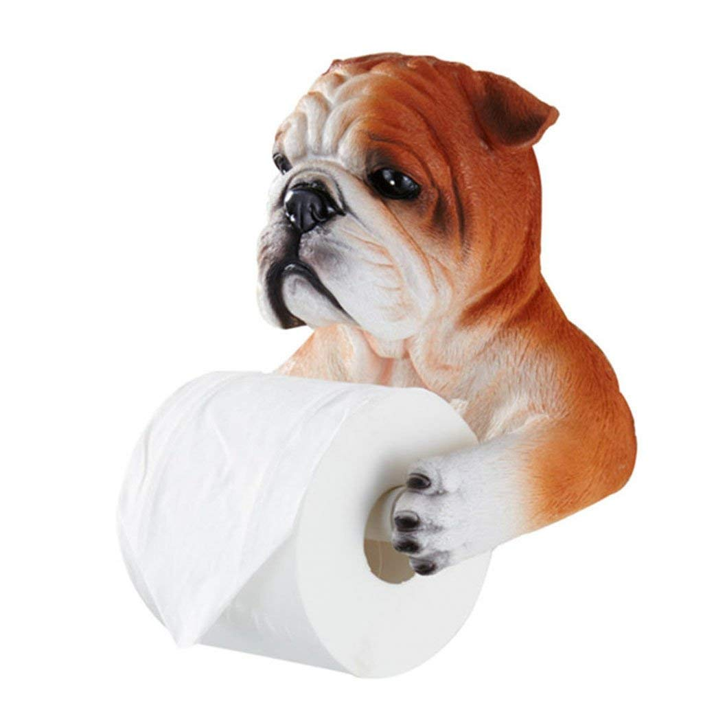 Toilet paper holder bathroom toilet paper holder free punching toilet paper box resin self-adhesive towel rack kitchen bathroom toilet paper holder ( Color : Orange , Size : 201421cm )