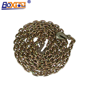 G70 Lashing Binder Chain Chain Link Truck Chain With Hook