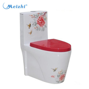 3L fiush Carrara Marble Flower Carving Stone Toilets