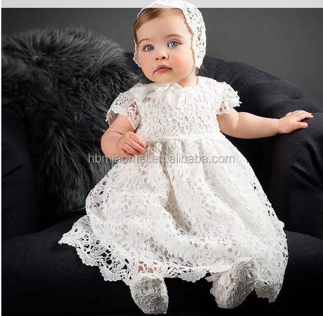 e57c5c29d 2017 Newborn Baby Girl Christening Gown Lace Princess 1st Birthday ...