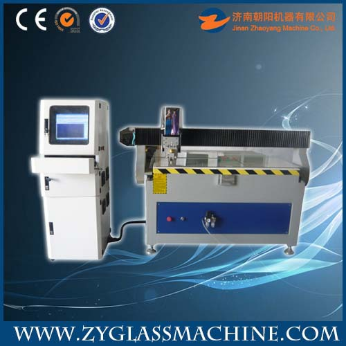 Watch glass cutting machine