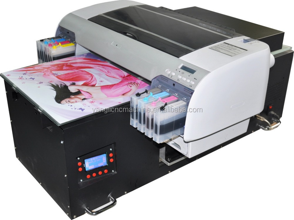 LED UV Flatbed <strong>printer</strong> for glass,ceramic,wood,plastic,leather,PVC,KT board,factory