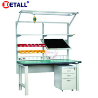 Hot Sale Electronics Laboratory Furniture Workstation Table Garage Bench