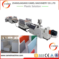 CE approved XPS insulation board production line/xps foam board extruder machine
