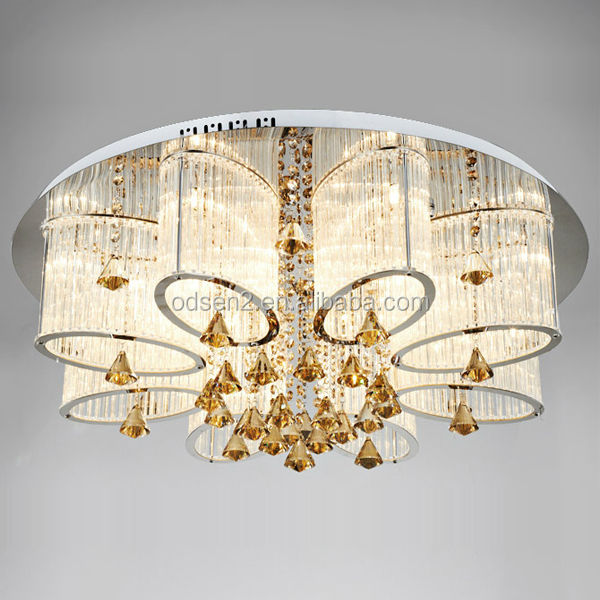 Fashion Modern Crystal Chandelier Lighting In Dubai