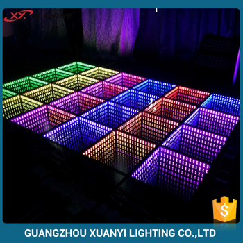 Interaction Style Led Light Up Dance Floor For Evening