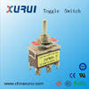electronic auto reset switch toggle switch / dpdt on-off-on toggle switch / 3 way spring return toggle switch