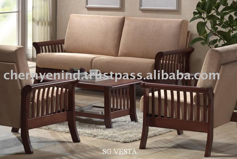 Muebles de madera para sala de estar for Muebles de sala madera