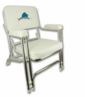Superior Embroidery Deck Folding Chairs/boat Folding Chair Sail Fish