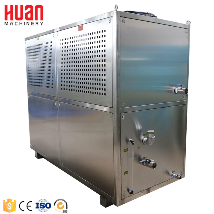 Famous chiller brand 50 ton carrier air cooled chiller price for industrial using