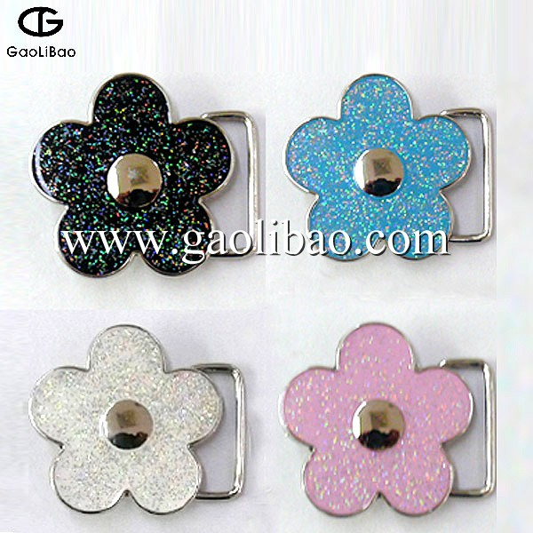 High quality shiny cute plate belt <strong>buckles</strong> for children PB-300003