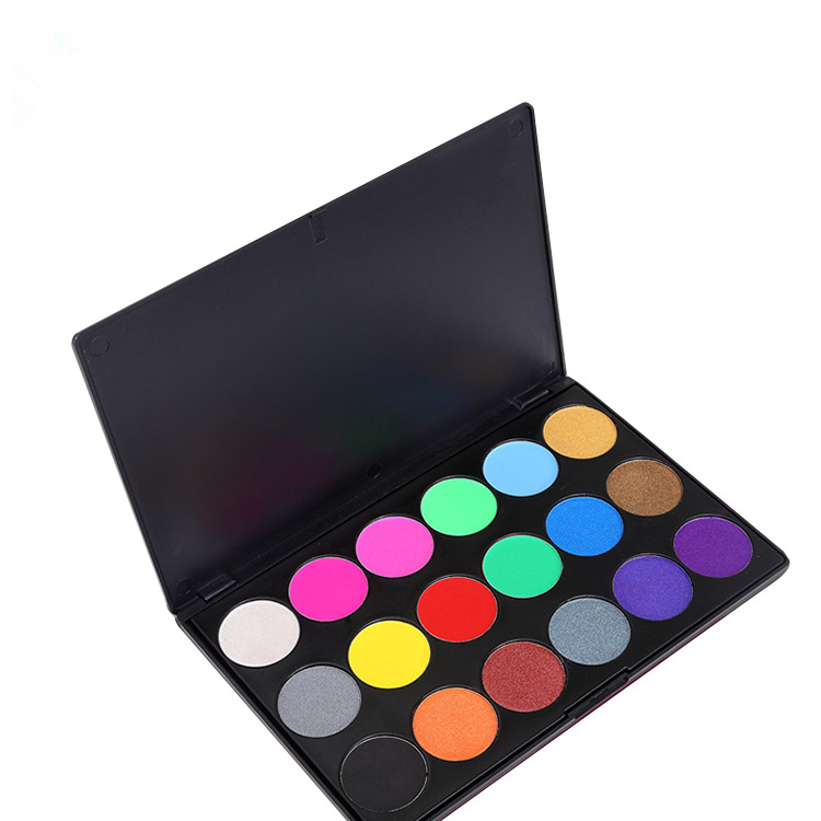 Wholesale 18 color makeup eyeshadow palette with best price & good quality
