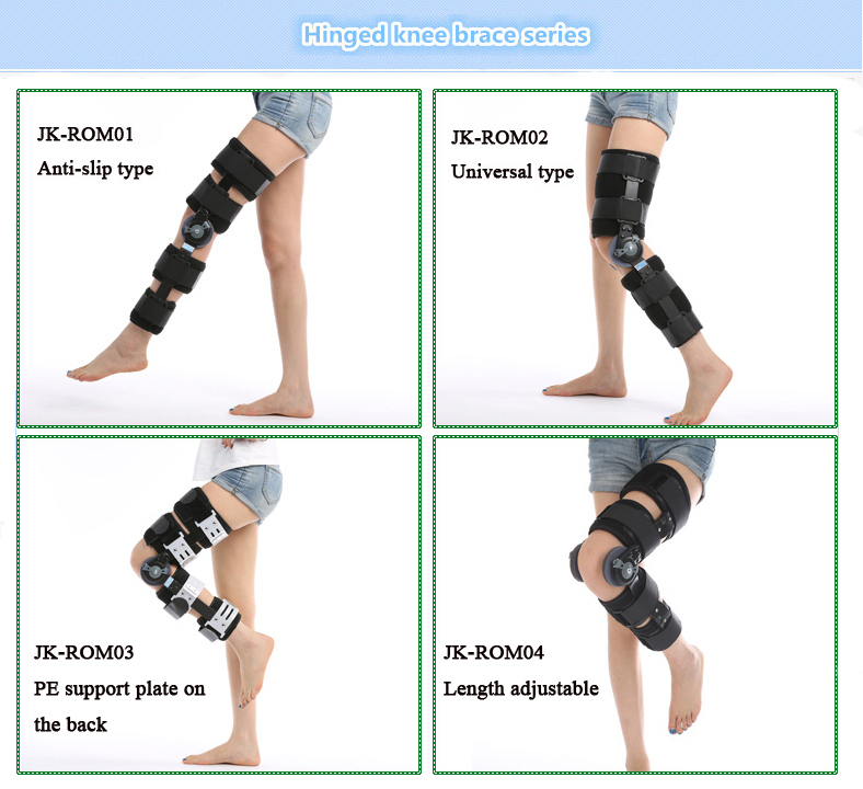 2015 New Types Of Knee Support Hinged Knee Braces Knee Extension ...
