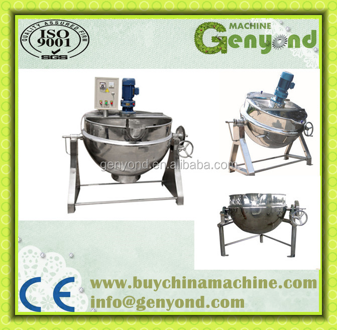 Steam Jacketed Stainless Steel Kettles By Genyond Industry