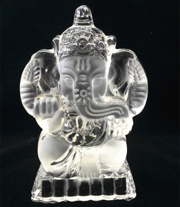 new arrival crystal Ganesha statue for religious gifts