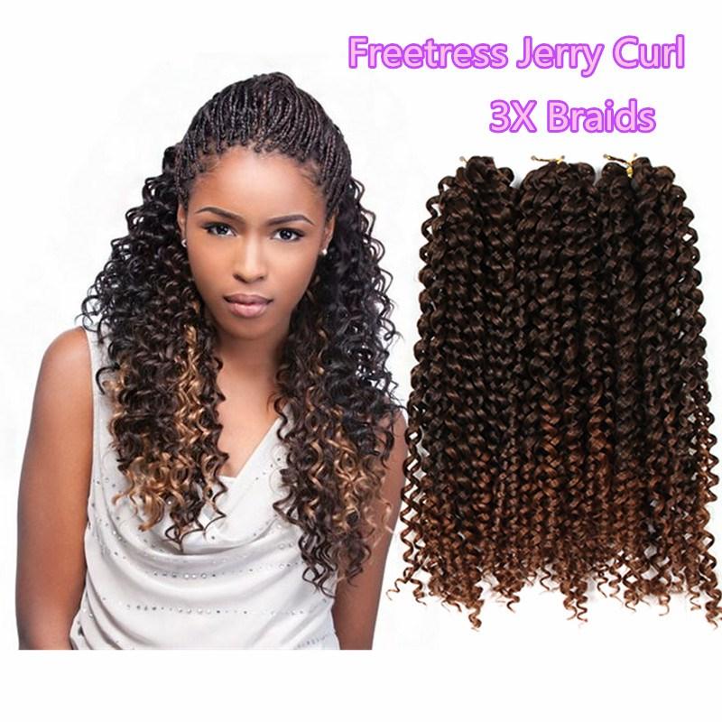 Synthetic Crochet Braids Freetress Hair Box Braiding Deep Twist Bulk