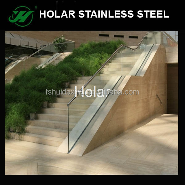 inox stair accessories, glass railing hardware