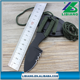 Small tactical survival knife camping fixed blade knife rescue tool hand neck knife