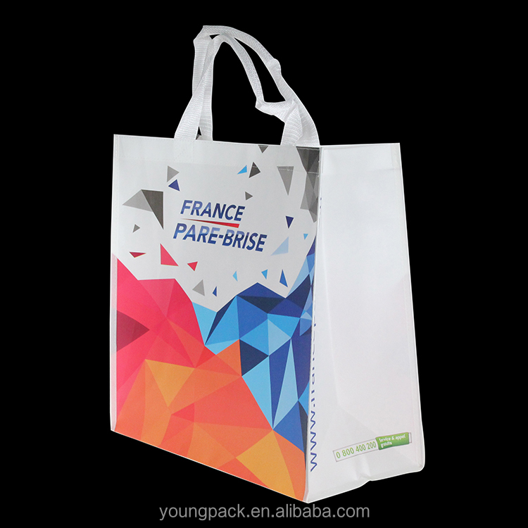 <strong>Eco</strong> Recycled Laminated Non Woven Tote Shopping Bag