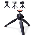 Portable Mini Tripod Stand Mount For Mini Action Camera Cell Phone Projector or playstation