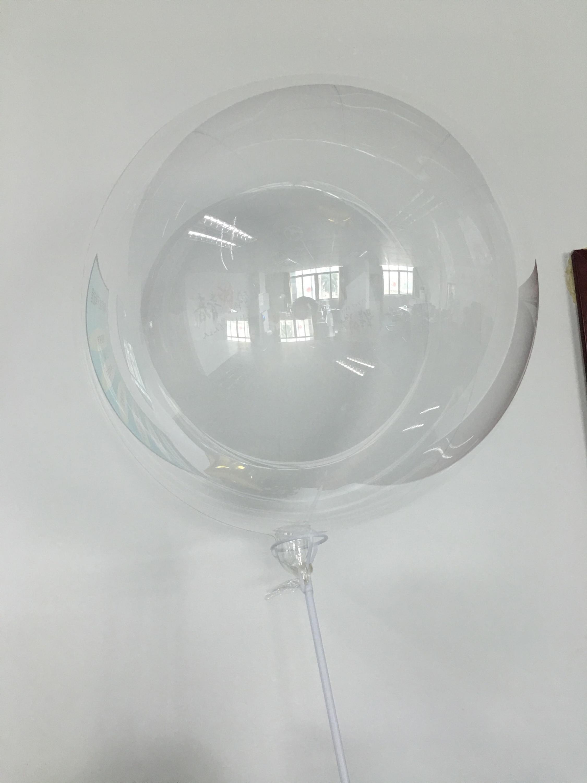 High Quality Bobo Balloon 24 Inches Super Clear Round Tpu