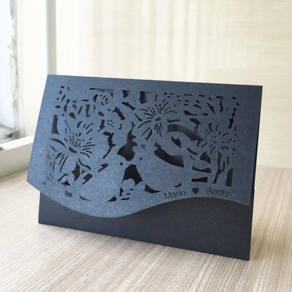 Макет новогодней открытки для лазерной резки