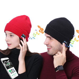 Shenzhen Built-in Speakers Wireless Beanie Hat with Headphone Running Earphone Music Hat