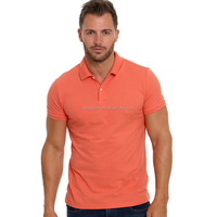 MS - 1989 Hot Sale Men's Cotton Polo T Shirt Sports Fitted Polo Shirts