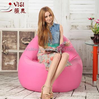 visi princess bean bag chair recliner pink bean bag indoor furniture