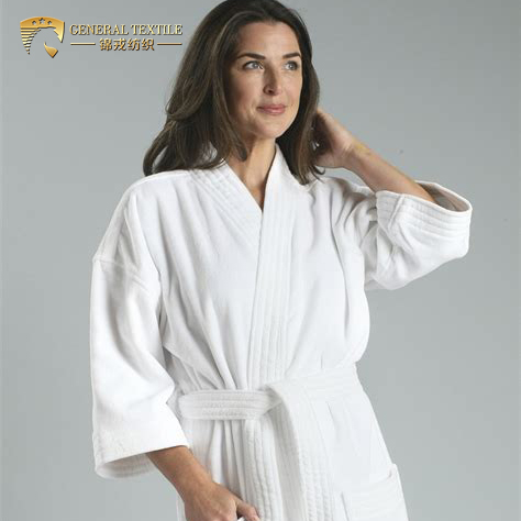 China Amazon Hot Selling Cheap Kimono Bathrobe for Spa and Hotel