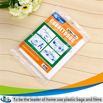 small factory for sale clear pe plastic drop cloth flexible clear plastic sheets for painting