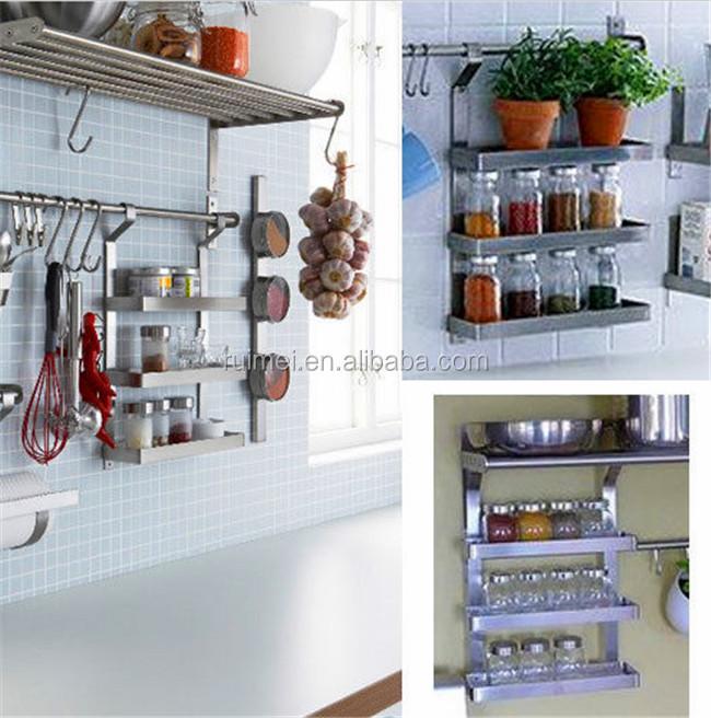 stainless steel spice shelf good racks spice rack. Black Bedroom Furniture Sets. Home Design Ideas
