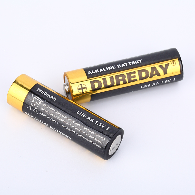 High quality custom AA dry battery 1.5V 2800mAh