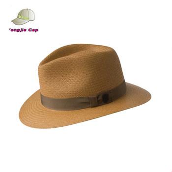 24dc9997735 Popular Design Brown Paper Straw Custom Summer Panama Hat - Buy Panama Hat