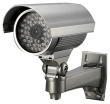 RY-7056 1/3 Sony CCD Zilveren 600TVL 48 IR Leds Waterdichte CCTV IR Bullet Security <span class=keywords><strong>Camera</strong></span>