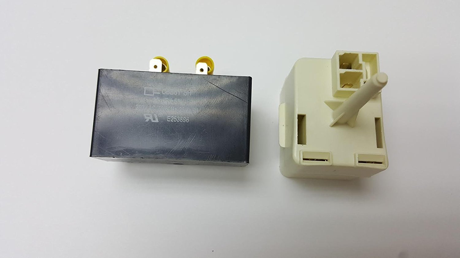 Buy Kenmore Refrigerator Compressor Start Relay And Capacitor Switch In Refrigerators Frigidaire Overload Free Coup613 Fits Ps8689571