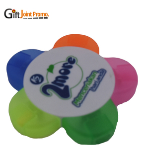 Cheap Wholesale 5 Prong Flower Highlighter Pen