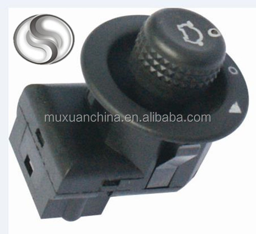7 Pins adjust knob side electric mirror switch for VW SANTANA 2000 3000 OEM 1GD959565