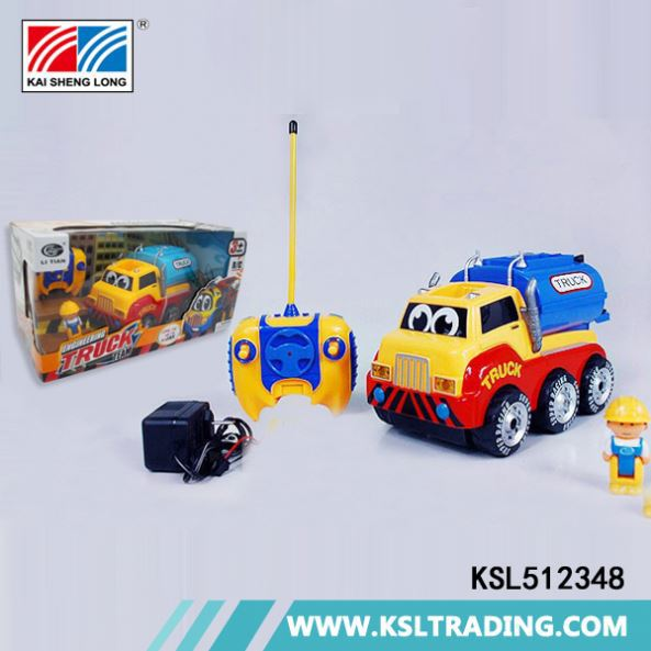 KSL512348 Hottest cheap price 2016 hot sale remote control tow truck toy