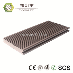 factory direct sale price CE standard wpc decking raw material made in China